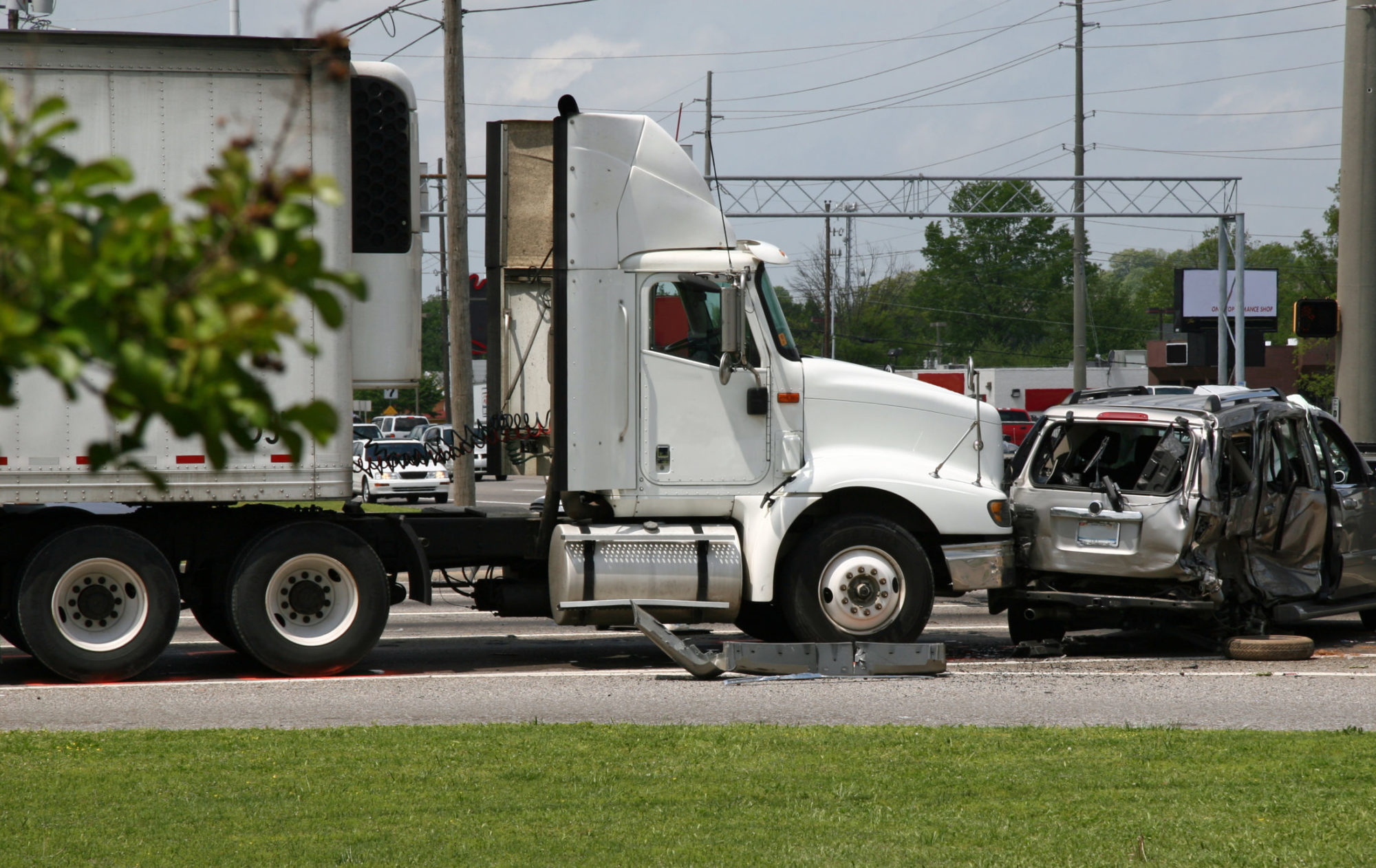 a truck accident in Oklahoma City